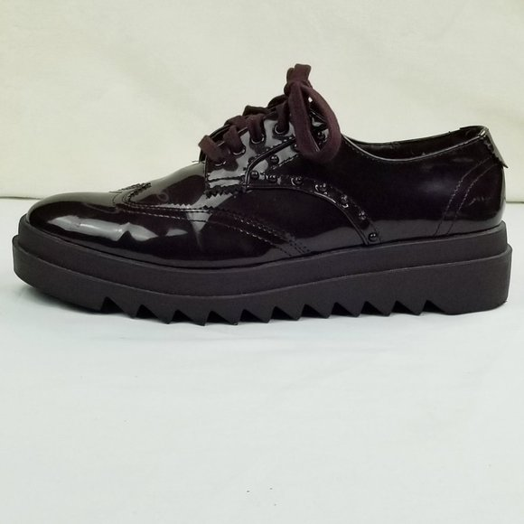 Zara Women Size 38 (U.S. 7.5-8) Patent Leather